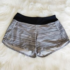 Under Armour Lined Stripe Running Shorts  Small